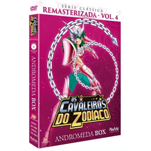Box Os Cavaleiros Do Zodíaco - Andromeda Box: Série Clássica Remasterizada Vol. 4 (5 DVD's)