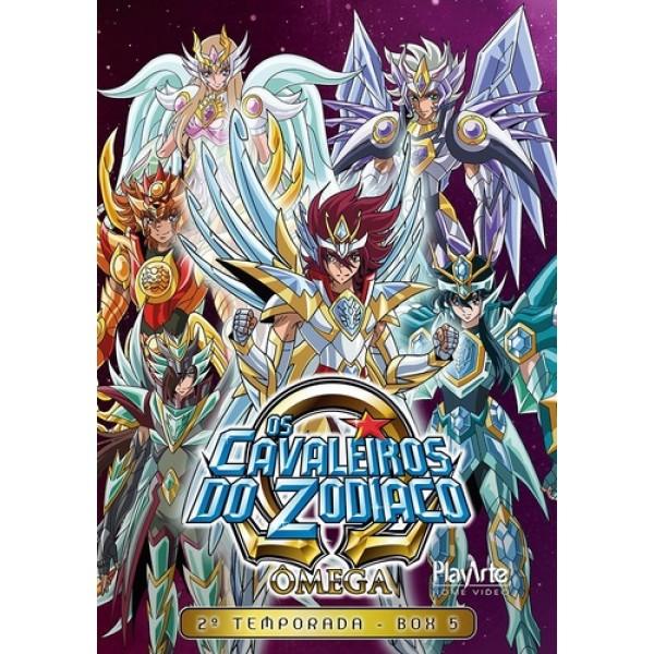 Box Os Cavaleiros Do Zodíaco - Ômega: 2ª Temporada Vol. 5 (3 DVD's)