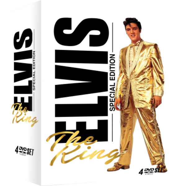 Box Elvis Presley - The King: Special Edition (4 DVD's)