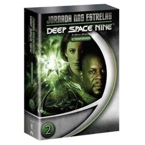 Box Jornada Nas Estrelas - Deep Space Nine A Nova Missão: 2ª Temporada (7 DVD's)