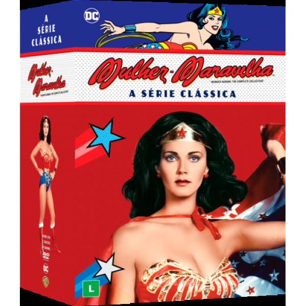 Box Mulher-Maravilha - A Série Clássica (21 DVD's)
