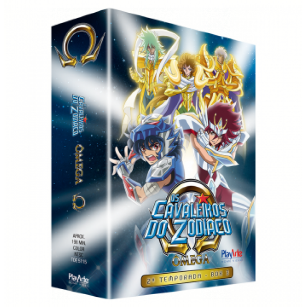Box Os Cavaleiros do Zodíaco - Ômega: 2ª Temporada Vol. 3 (3 DVD's)