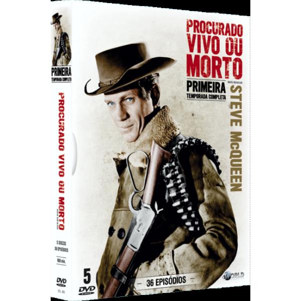 Box Procurado Vivo ou Morto - 1ª Temporada (5 DVD's)
