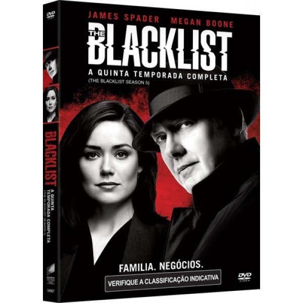 Box The Blacklist - A Quinta Temporada Completa (5 DVD's)