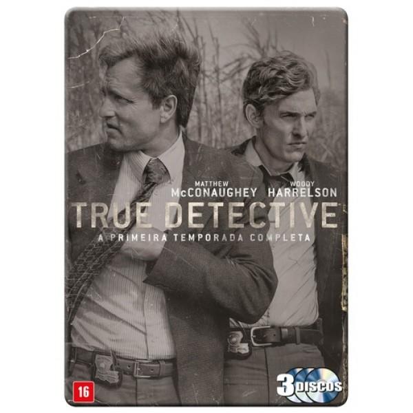 Box True Detective - A Primeira Temporada Completa (3 DVD's)