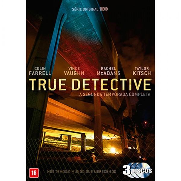 Box True Detective - A Segunda Temporada Completa (3 DVD's)