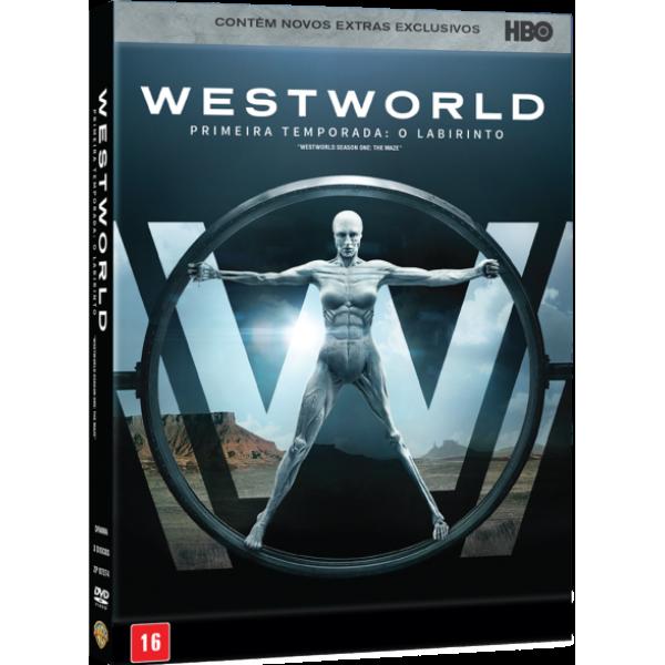 Box Westworld - Primeira Temporada: O Labirinto (3 DVD's)