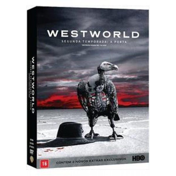 Box Westworld - Segunda Temporada: A Porta (3 DVD's)