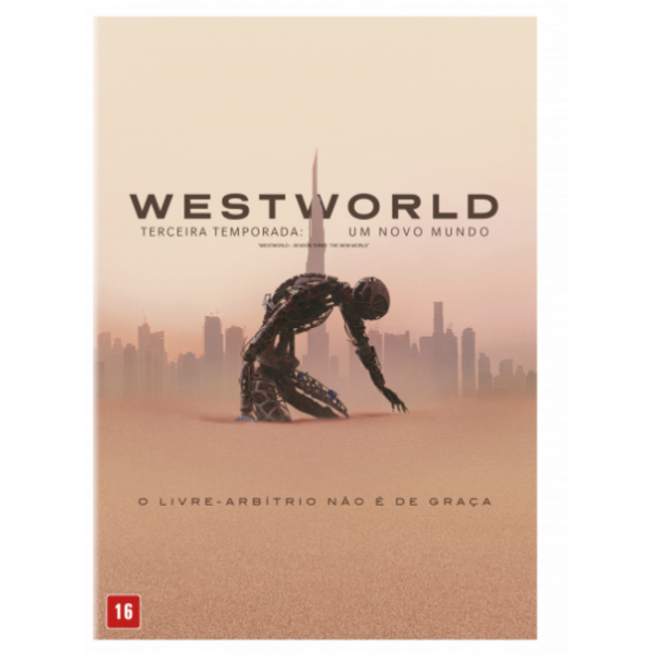 Box Westworld - Terceira Temporada: Um Novo Mundo (3 DVD's)