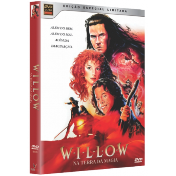 Box Willow - Na Terra Da Magia (2 DVD's+CD com a trilha sonora)
