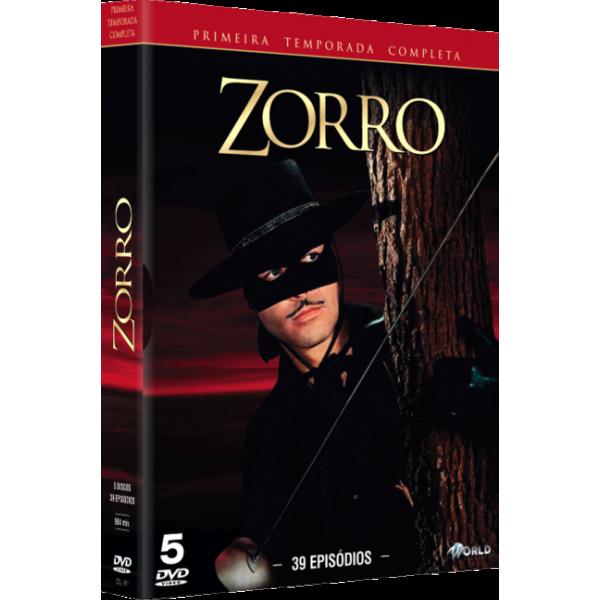 Box Zorro - Primeira Temporada Completa (5 DVD's)