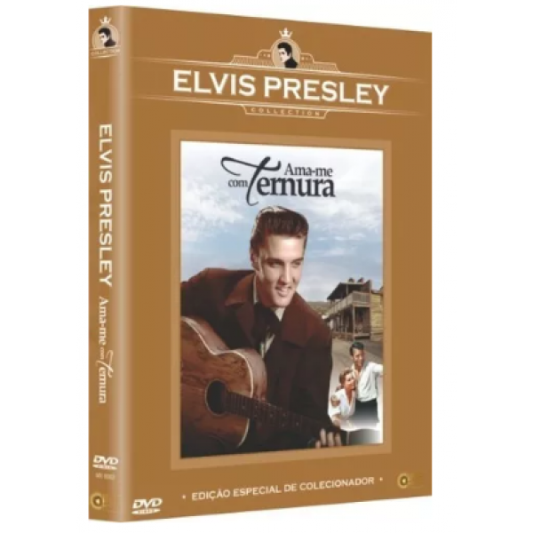 DVD Ama-Me Com Ternura (Elvis Presley Collection)