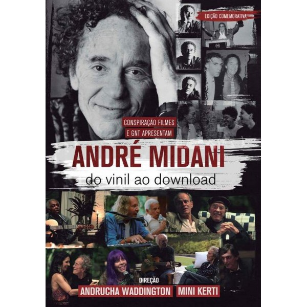 DVD André Midani - Do Vinil Ao Download