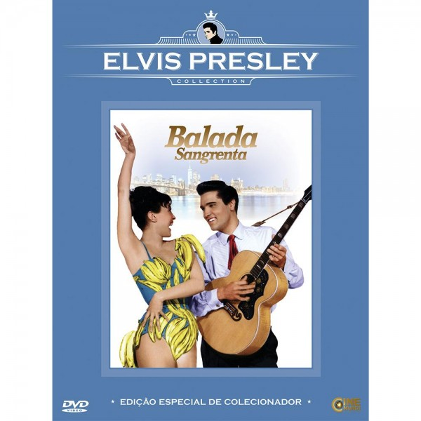DVD Balada Sangrenta (Elvis Presley Collection)