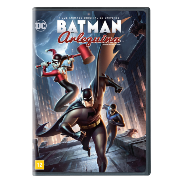 DVD Batman E Arlequina