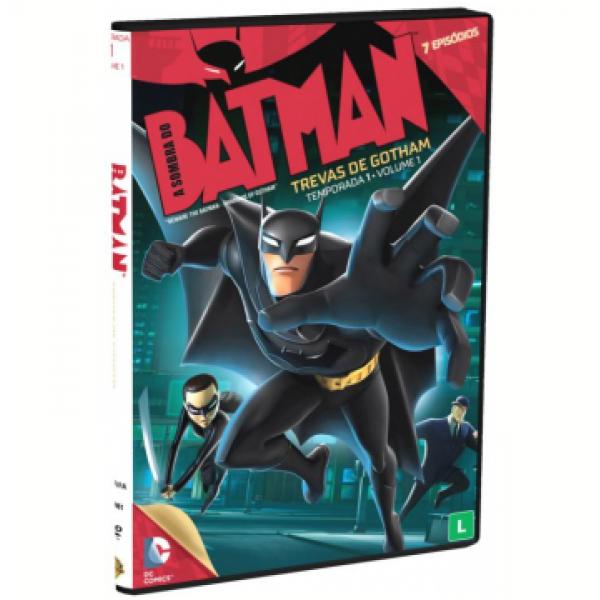 DVD Batman - Trevas De Gotham: Temporada 1 Vol. 1