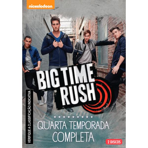 DVD Big Time Rush - Quarta Temporada Completa (DUPLO)