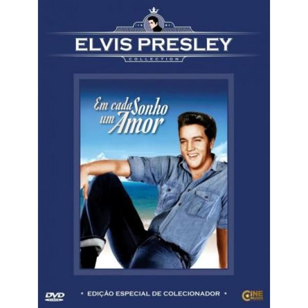 DVD Em Cada Sonho Um Amor (Elvis Presley Collection)