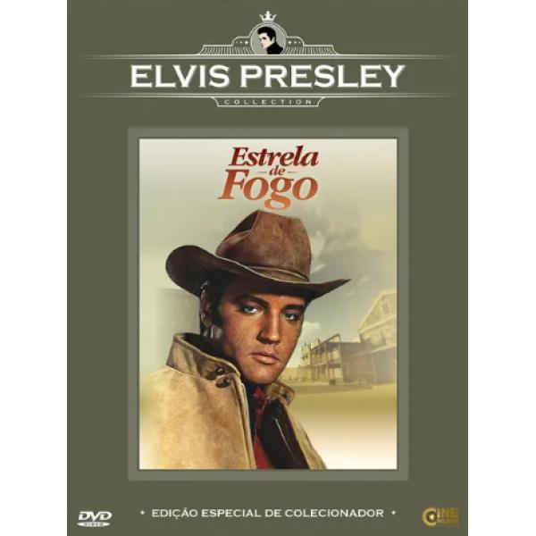 DVD Estrela De Fogo (Elvis Presley Collection)