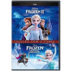 DVD Frozen - Coleção Com 2 Filmes (DUPLO)