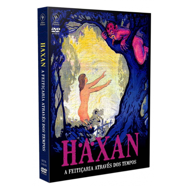 DVD Haxan - A Feitiçaria Através Dos Tempos