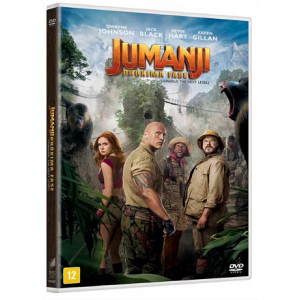DVD Jumanji - A Próxima Fase