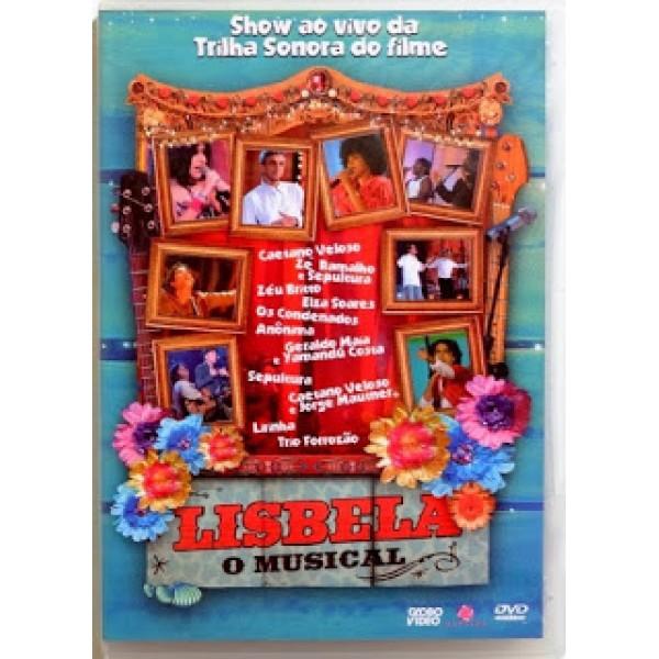 DVD Lisbela - O Musical: Show Ao Vivo Da Trilha Sonora Do Filme