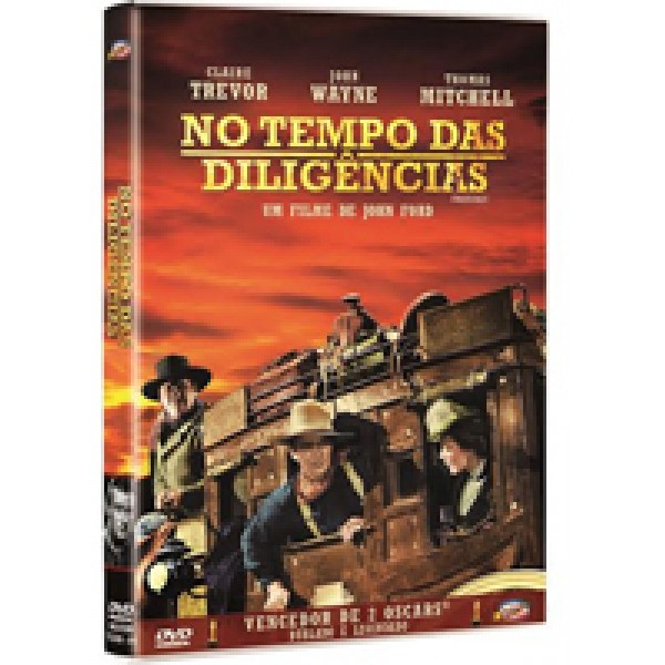 DVD No Tempo das Diligências