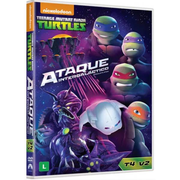 DVD Tartarugas Ninja - Ataque Intergaláctico: 4ª Temporada Vol. 2