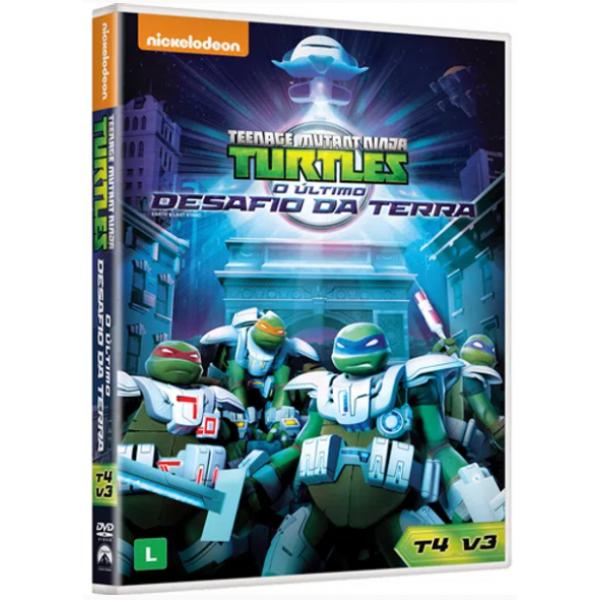DVD Tartarugas Ninja - O Último Desafio Da Terra: 4ª Temporada Vol. 3