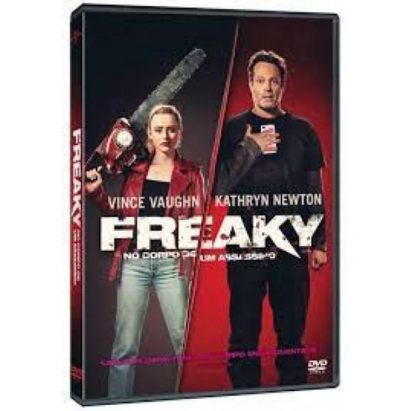 DVD Freaky: No Corpo De Um Assassino