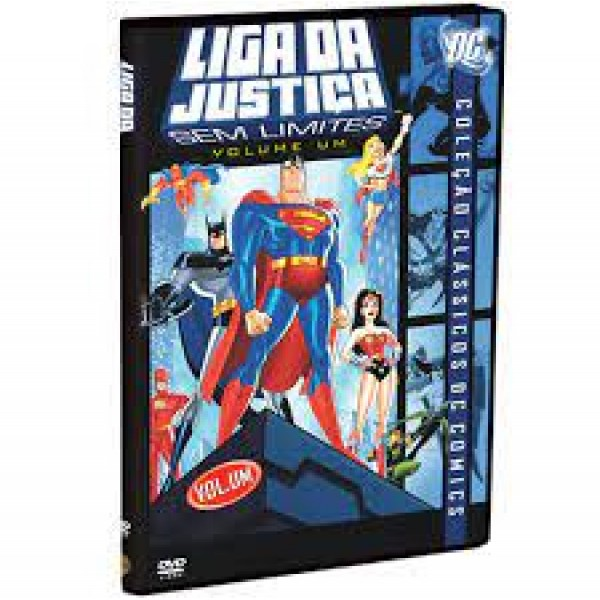 DVD Liga da Justiça - Sem Limites Vol.1 (2ª Temporada)