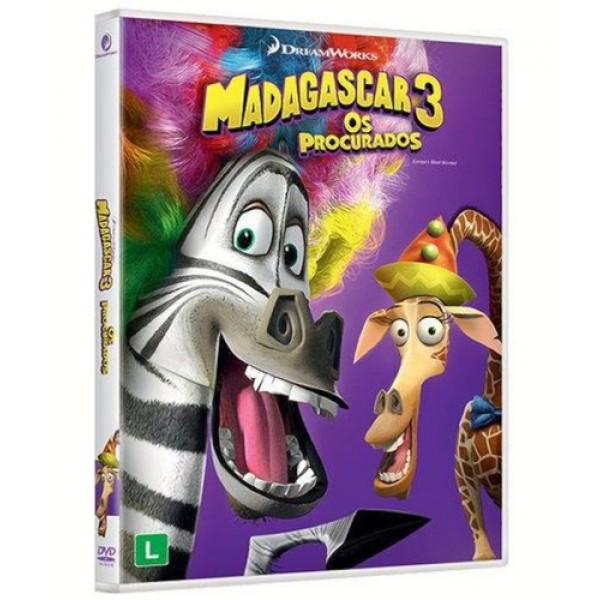 DVD Madagascar 3 - Os Procurados