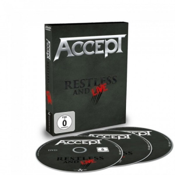 Box Accept - Restless And Live (DVD + 2 CD's)