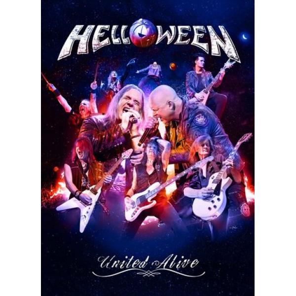 Box Helloween - United Alive (3 DVD's)