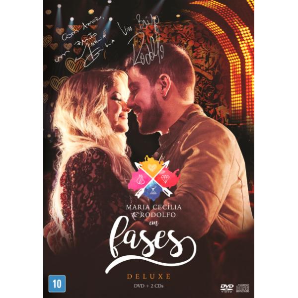 Box Maria Cecília & Rodolfo - Em Fases (Deluxe - 2 DVD's + CD)