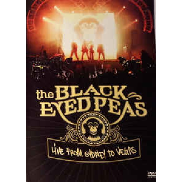 DVD The Black Eyed Peas - Live From Sydney To Vegas