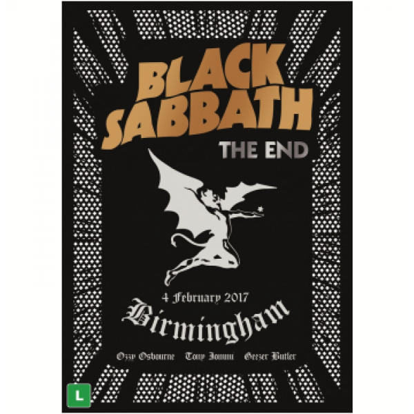 DVD Black Sabbath - The End: Live From The Birmingham