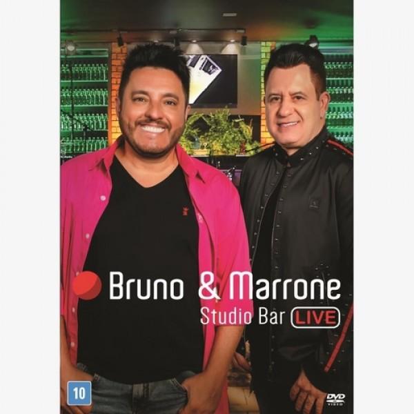 DVD Bruno & Marrone - Studio Bar Live
