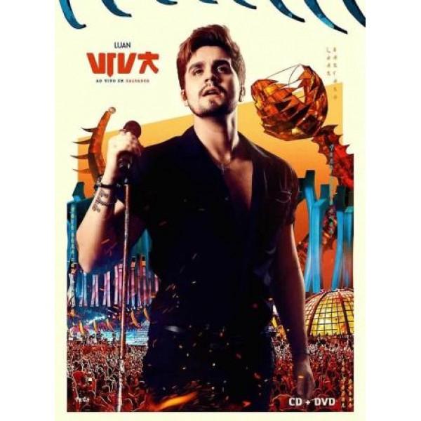 DVD + CD Luan Santana - Viva: Ao Vivo Em Salvador (Digipack)