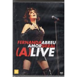 DVD Fernanda Abreu - Amor Geral (A)Live