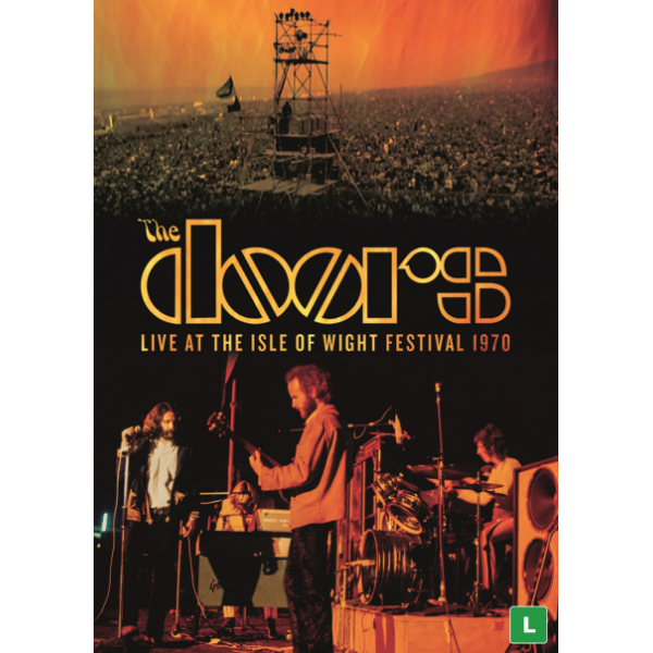DVD The Doors - Live At The Isle Of Wight Festival 1970
