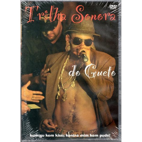 DVD Trilha Sonora Do Gueto - Kumigu Kem Kisé; Kontra Mim Kem Pudé!