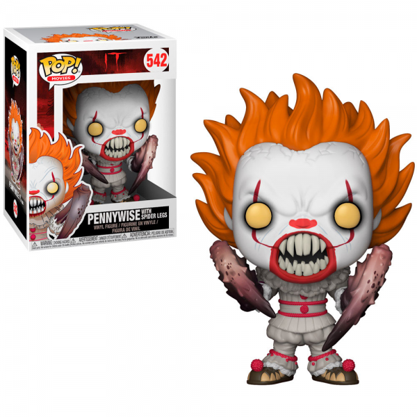 Funko Pop Movies - It Chapter 2: Pennywise Spider Legs 542 (IMPORTADO)