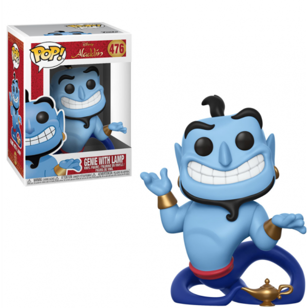 Funko Pop Disney - Alladin: Genie With Lamp 476 (IMPORTADO)