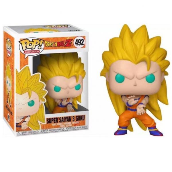 Funko Pop Animation - Dragon Ball Z Exclusive: Super Saiyan 3 Goku 492 (IMPORTADO)