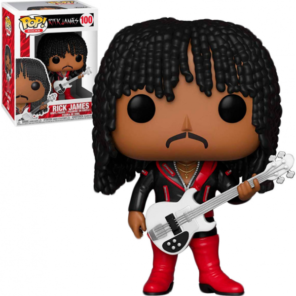 Funko Pop Rocks - Rick James 100 (IMPORTADO)