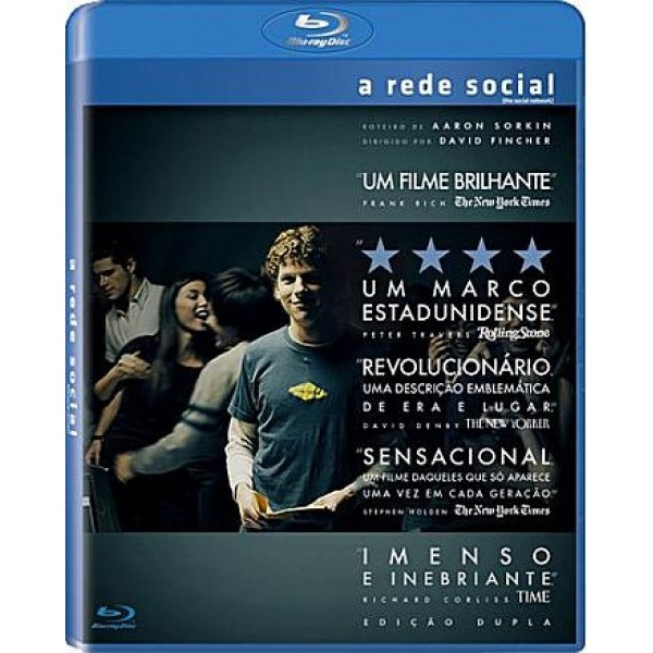 Blu-Ray A Rede Social