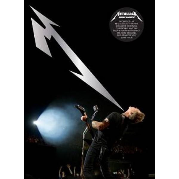 DVD Metallica - Quebec Magnetic (DUPLO)