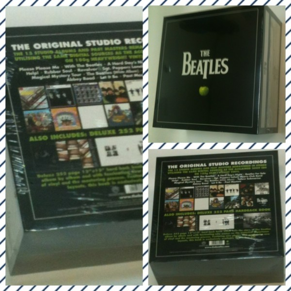Box LP The Beatles In Stereo (14 LP's)